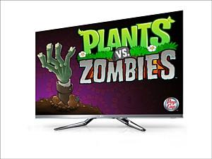 Популярная игра «Растения против зомби» появилась  в LG Smart TV