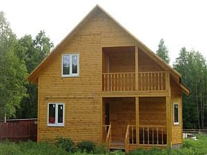 Строительство домов и бань из бруса в Новосибирске