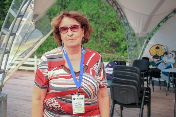 """Татьяна Юрьевна Должанская в """"ГеоАртеке-2018"""""""