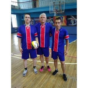 Волейбольная команда «Росреестр» -  на III месте в чемпионате «Динамо»