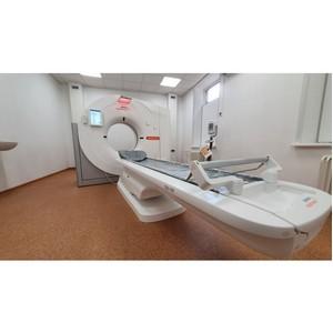 Компьютерный томограф в дар Гагаринской больнице Смоленской области
