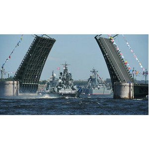 Синтерра Медиа обеспечила прямые ТВ трансляции парада ко Дню ВМФ