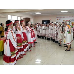 В Доме дружбы народов Чувашии состоялся республиканский фестиваль чувашского национального танца