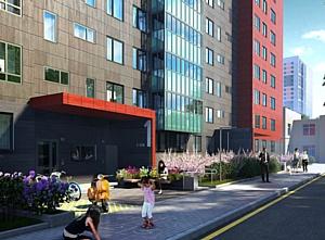 Холдинг «Аквилон-Инвест» ведет работы на 9-м этаже ЖК «КосмосStar» в Санкт-Петербурге