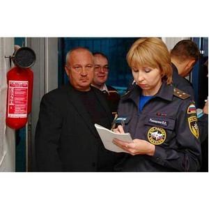 Пожарная безопасность в торговом центре