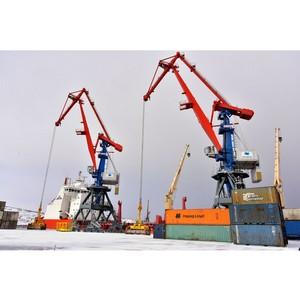 Новые портальные краны «Витязь» введены в эксплуатацию в Мурманске