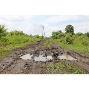 ОНФ добился ремонта дороги в селе Ендовище Воронежской области