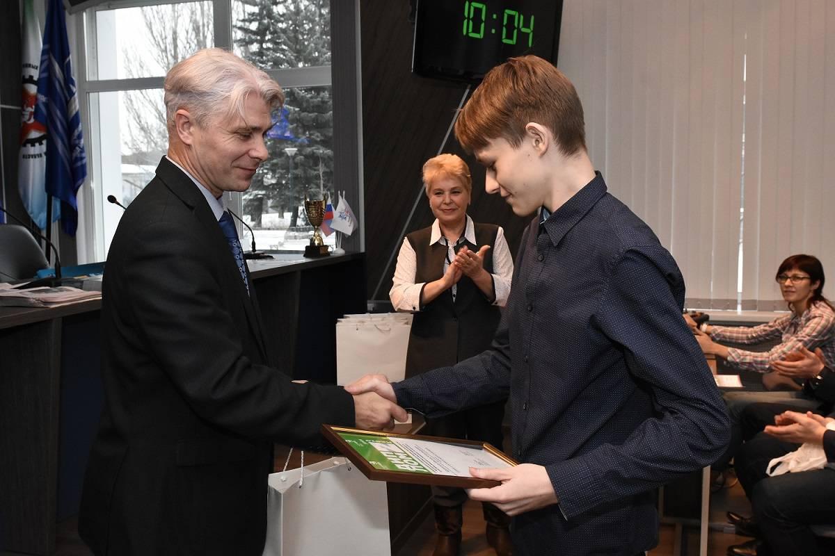 На ЗиКе поздравили юных призеров чемпионата