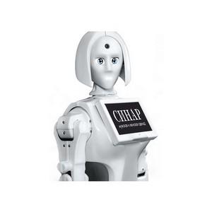 Новосибирские покупатели обнимутся с девушкой-роботом