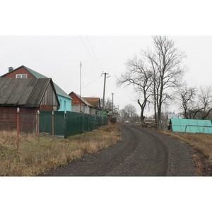 ОНФ добился решения проблемы ремонта дороги в селе Воронежской области