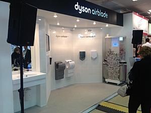 Dyson представила на MosBuild 2013 три новые модели сушилок Airblade™