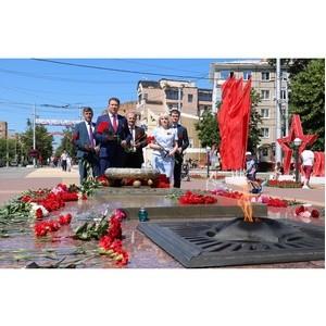 Энергетики почтили память, погибших в годы Отечественной войны