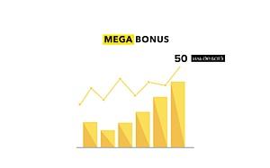 Megabonus прошел порог в 50 магазинов