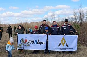 Сотрудники ОАО «НАК «Аки-Отыр» приняли участие в экологической акции