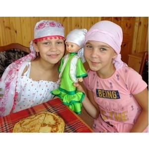 Дети Шемуршинского района - на празднике Курбан Байрам