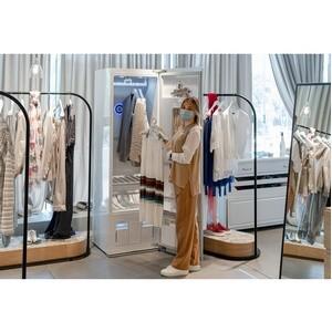 Сотрудничество «Кашемир и шелк» и LG Styler для безопасного шопинга