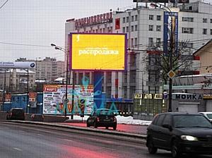 Изготовление установка световых экранов в Москве и Московской области с гарантиями качества