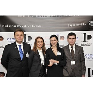 Дизайнер Наталья Большакова получила награду  SBID International Design Awards 2012
