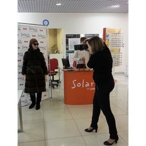 «Стильная защита от солнца» презентация корнера Solaris