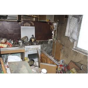 ОНФ призвали власти Воронежа решить проблему квартиры-свалки