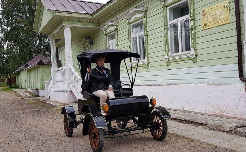 Ретро кар Романова