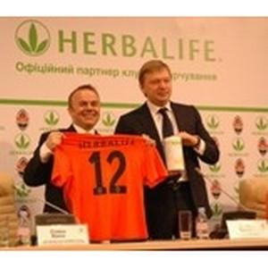 Компания Herbalife выступит в качестве  Официального партнера по питанию ФК «Шахтер» в 2012-2014 гг