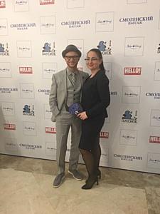 Илгизя Шарафиева посетила открытие выставки Люди и Птицы фонда Галчонок