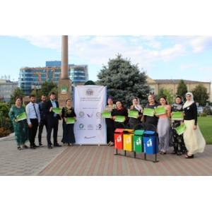 Команда «Молодежки ОНФ» в Чечне приняла участие в акции «Экокультура»