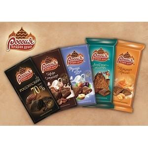 Шоколад «Россия» – Щедрая Душа!» в новом оформлении для душевных моментов