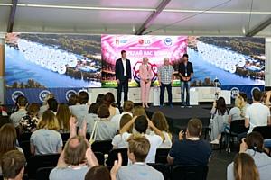 Донорский марафон на молодежном форуме «Территория смыслов на Клязьме»
