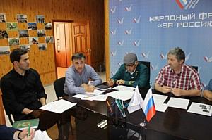 Активисты Народного фронта в Чечне обсудили вопрос создания лесопарковых зеленых поясов в регионе