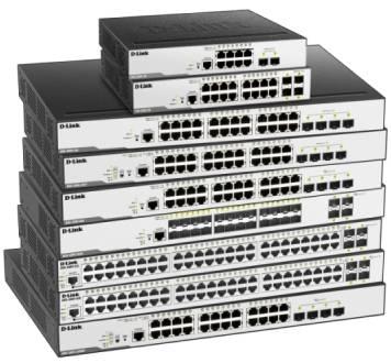 В продаже новые управляемые гигабитные коммутаторы D-Link DGS-3000 серии