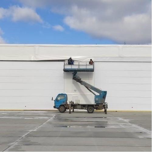ГК «Эвриал» завершает строительство авиационного ангара