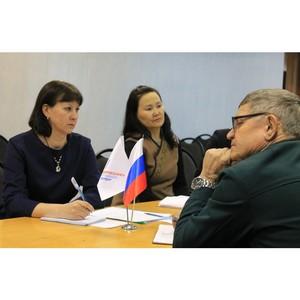 Активисты ОНФ в Туве определили основные направления работы в Год экологии