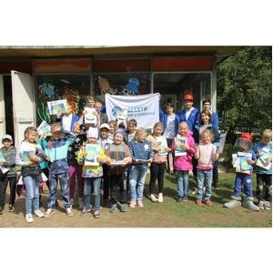 Студенты стройотряда #Нижновэнерго провели энергетический брейн-ринг в лагере «Орленок»