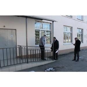 Активисты ОНФ оценили доступность избирательных участков Нальчика для инвалидов