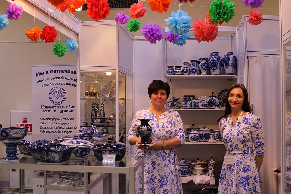 XXIV выставка-ярмарка народных художественных промыслов России «Ладья. Весенняя фантазия 2018»
