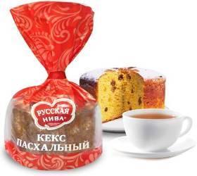 Сезонное предложение от «Русской нивы» - Кекс «Пасхальный»