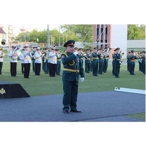 В Челябинской области при полном аншлаге состоялся фестиваль военных оркестров Уральского округа