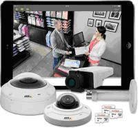 Простые беспроводные решения видеонаблюдения Axis Companion Dome WV и Axis Companion Cube LW для SMB