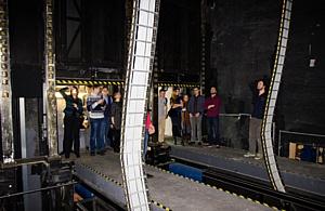 Участники фестиваля «От винта!» побывали на «минус-пятом» этаже Большого театра