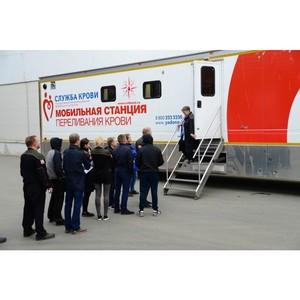 Акция в поддержку Дня донора на Уралтрансмаше