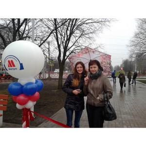Cостоялось открытие бульвара на проспекте Дзержинского, в котором участвовали представители «Метро»