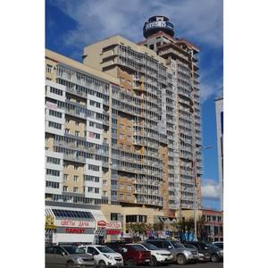 «Аквилон-Инвест» завершил заполнение стен и установку окон на 25-этажном ЖК «Империал»