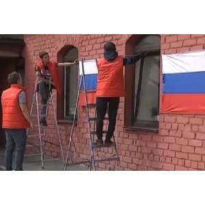 Челябинская команда «Молодежки ОНФ» присоединилась к акции «Россия в каждом окне»