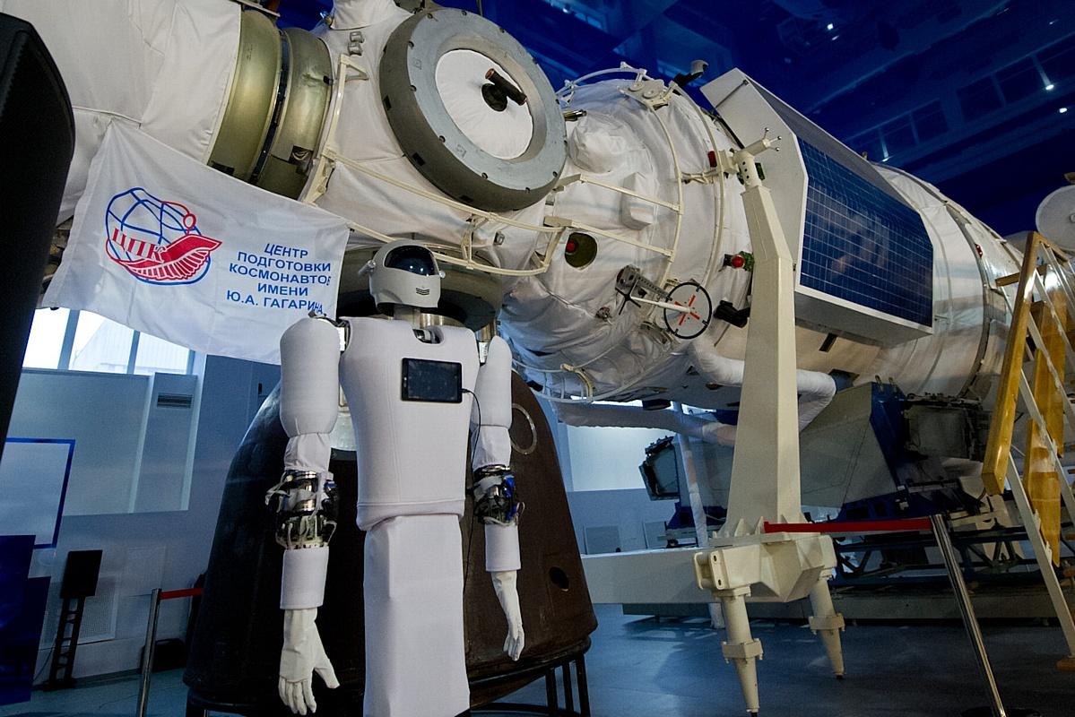 Макет станции в Центре подготовки космонавтов