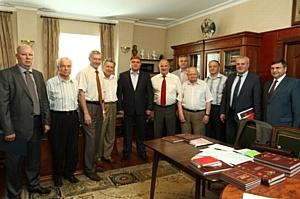 Руководители региона и города встретились с «Орловским землячеством»