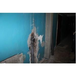 ОНФ призвал власти взять на контроль капремонт дома в Воронеже