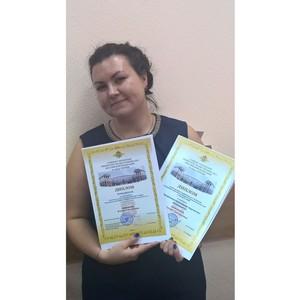 Зеленоградский полицейский-психолог победила в двух творческих конкурсах ГУ МВД России по г. Москве