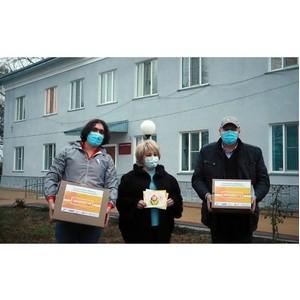 Участники акции #МыВместе в КБР передали СИЗы в Дом пожилого человека